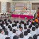Students attending Navarathri Golu Celebrations