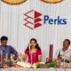 Sooryagayathri sings on Founder's day at Perks