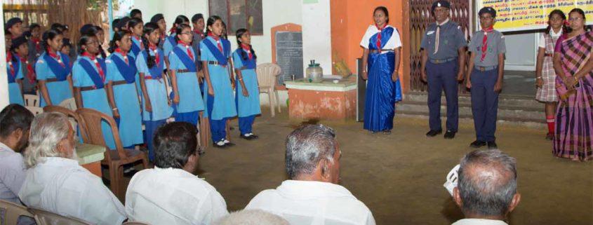 Indian Postal department Saving Scheme awareness program by Scouts of Perks